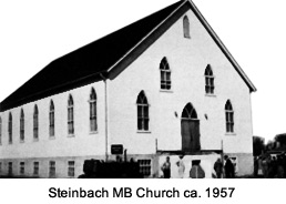 Steinbach MB Church ca. 1947