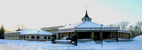 Steinbach MB Church building -- winter 2008